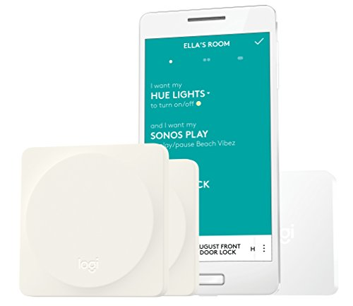 Logitech Pop Home Switch Starter Pack for One-Touch Control of Smart Home Devices In Any Room