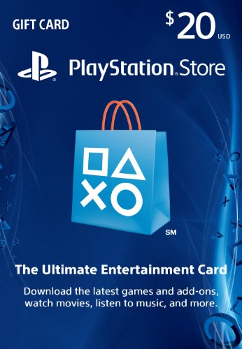 $20 PlayStation Store Gift Card – PS3/ PS4/ PS Vita [Digital]