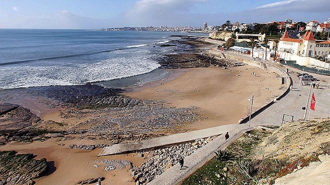 Playas cerca de Lisboa: Praia da Poça
