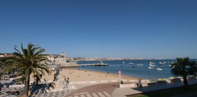 Playas cerca de Lisboa: Praia da Ribeira de Cascais