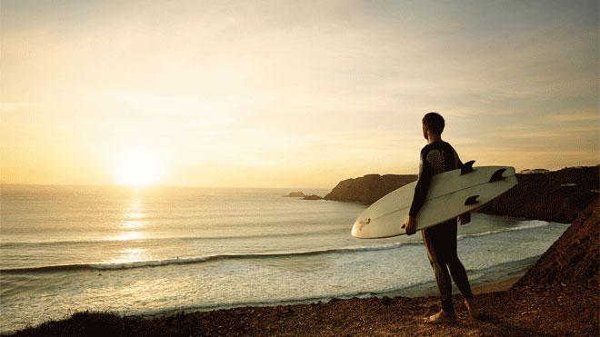 Playas para hacer surf en Portugal