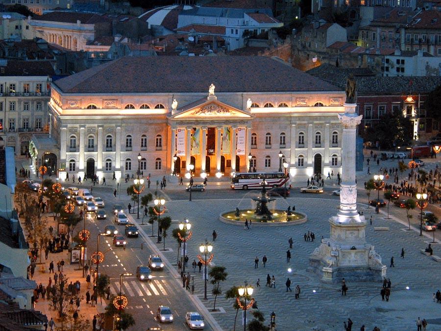 Teatro Nacional Doña María II Lisboa