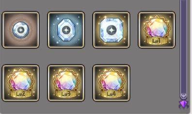 shining reincarnation gems