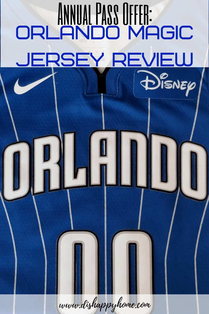 new arrivals 3610d 94817 Annual Pass Offer: Orlando Magic Jersey Review | 'Dis' Happy ...
