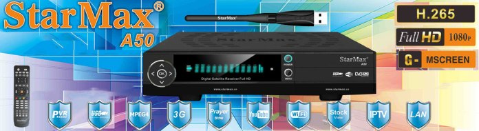 StarMax A50 Full HD Receiver Software