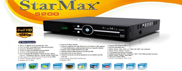 StarMax 5200 Full HD Receiver Software