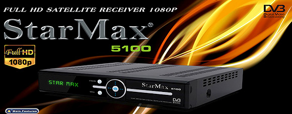 StarMax 5100 Full HD Receiver Software
