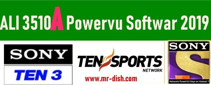 ALI3510A All Model New Autoroll Powervu Software 2019