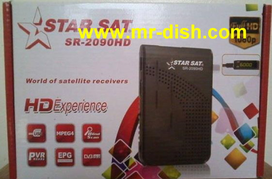 Starsat SR-2090HD New Firmware Update