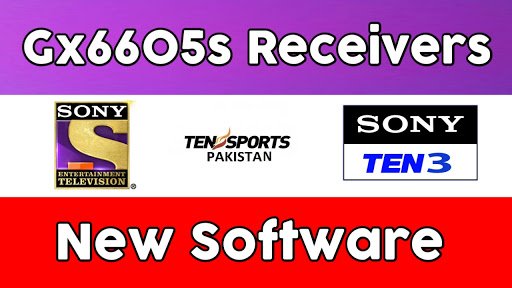 GX6605S ALL  RECEIVER NEW POWERVU SOFTWARE