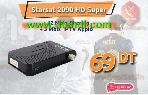 Starsat SR-2090HD Super New Firmware Update