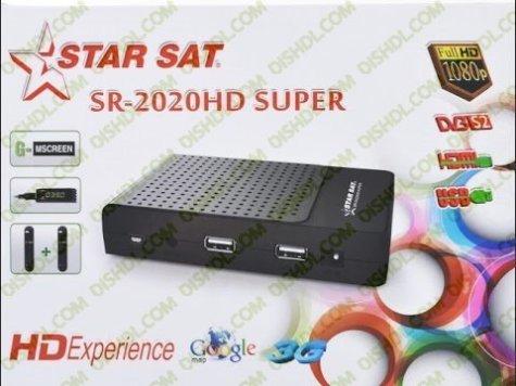 Starsat SR-2020HD SUPER New Firmware Update