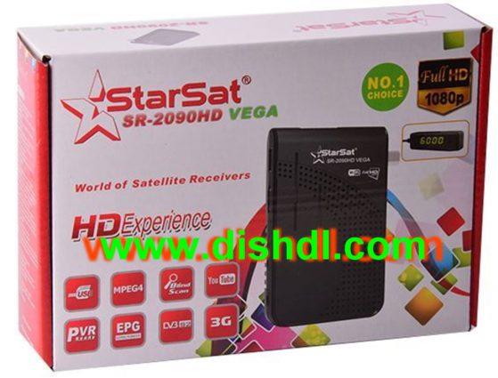 Starsat SR-2090HD Vega New Firmware Update