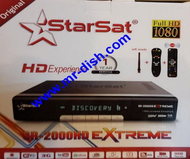 Starsat SR-2000HD Extreme SOFTWARE UPDATE