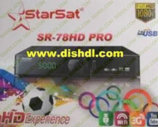 STARSAT SR-78HD PRO SOFTWARE