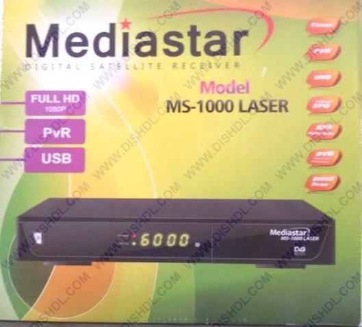 MEDIASTAR MS-1000 LASER SOFTWARE UPDATE