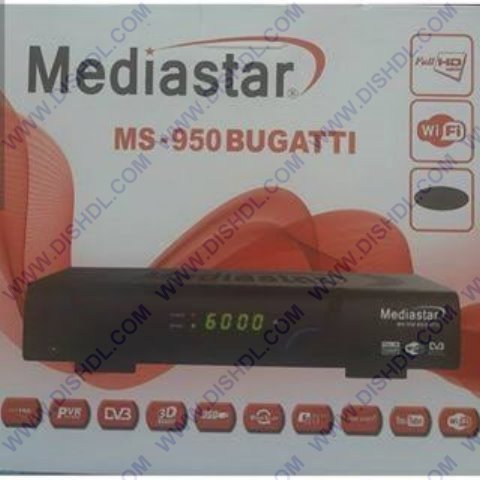 MediaStar MS-950 Bugatti Software