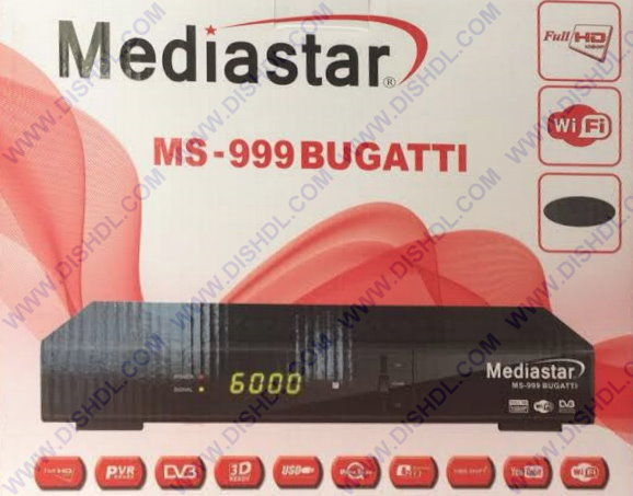 MEDIASTAR MS-999 BUGATTI SOFTWARE UPDATE