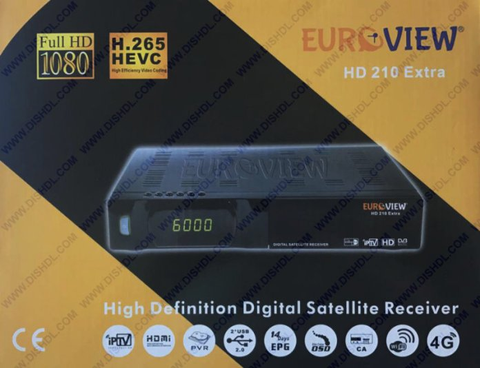 EUROVIEW HD 210 EXTRA SOFTWARE UPDATE