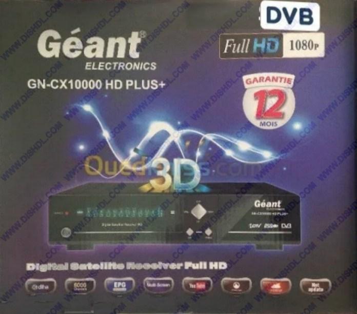 GEANT GN-CX 10000 HD PLUS+ SOFTWARE