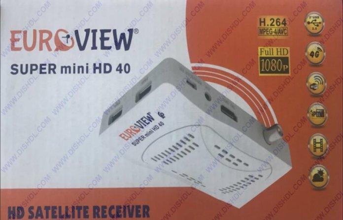 EUROVIEW SUPER MINI HD 40 SOFTWARE UPDATE