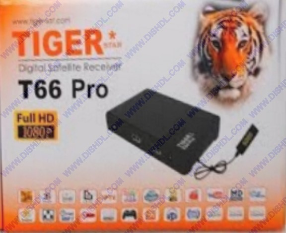 TIGER T66 PRO NEW SOFTWARE UPDATE
