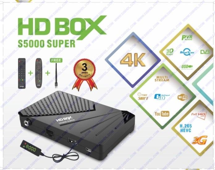 STARTRACK HD BOX S5000 SUPER SOFTWARE UPDATE