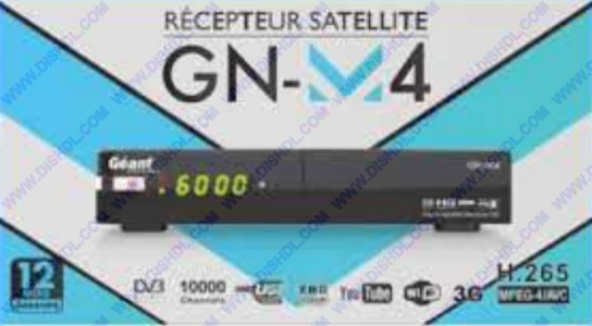 GEANT GN-M4 SOFTWARE UPDATE