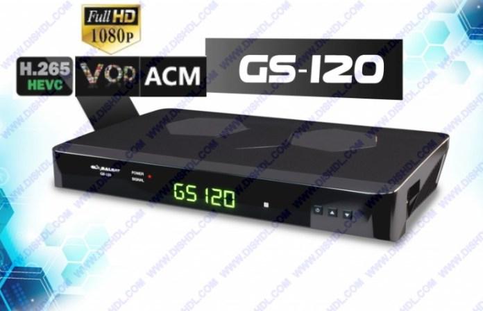 GLOBALSAT GS-120 NEW SOFTWARE UPDATE