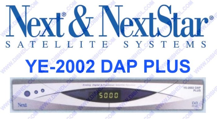 NEXT YE-2002 DAP PLUS SOFTWARE UPDATE