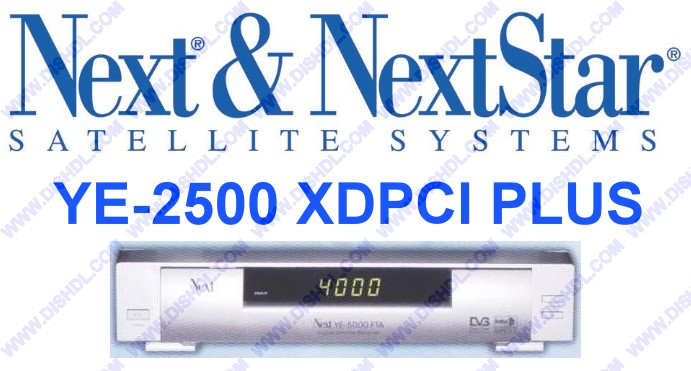 NEXT YE-2500 XDPCI PLUS SOFTWARE UPDATE