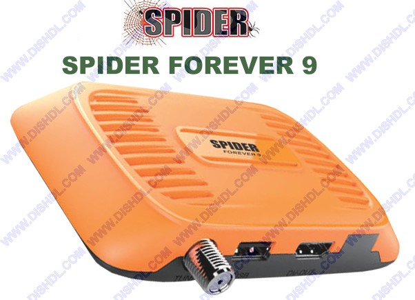 SPIDER FOREVER 9 NEW FIRMWARE UPDATE