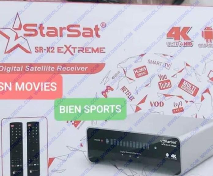 STARSAT SR-X2 EXTREME NEW SOFTWARE UPDATE