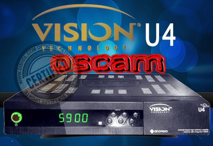 VISION U4 NEW SOFTWARE UPDATE