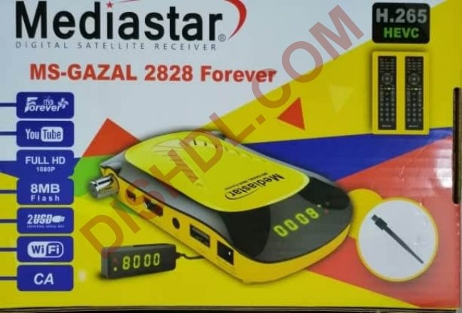 MEDIASTAR MS-GAZAL 2828 FOREVER SOFTWARE