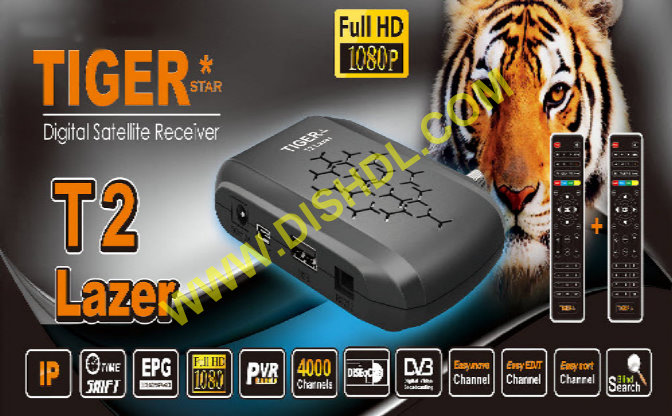 TIGER T2 LAZER RECEIVER SOFTWARE