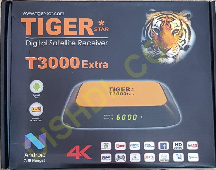 TIGER T300 EXTRA RECEIVER SOFTWARE UPDATE