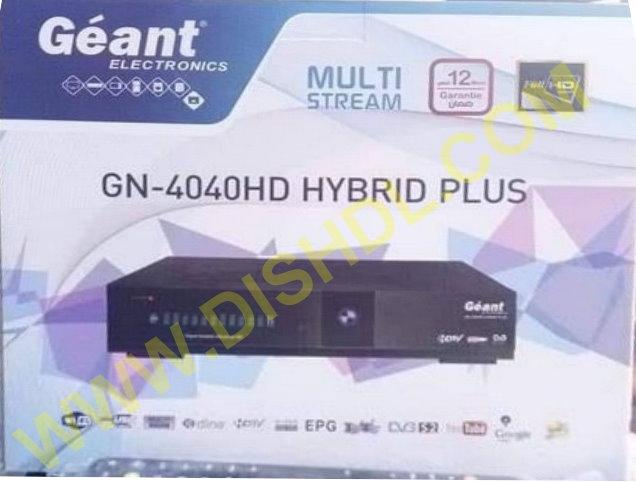 GEANT GN-4040 HD HYBRID PLUS SOFTWARE UPDATE