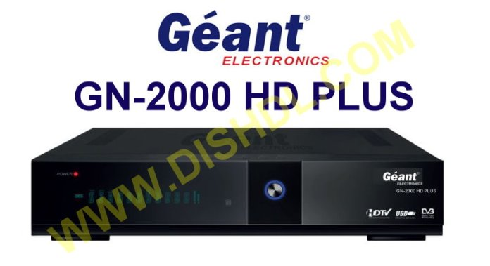 GEANT GN-2000 HD PLUS SOFTWARE UPDATE