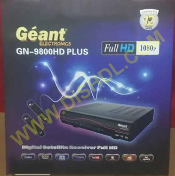 GEANT GN-9800 HD PLUS SOFTWARE UPDATE