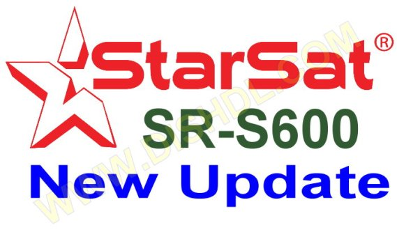 STARSAT SR-S600 RECEIVER SOFTWARE UPDATE
