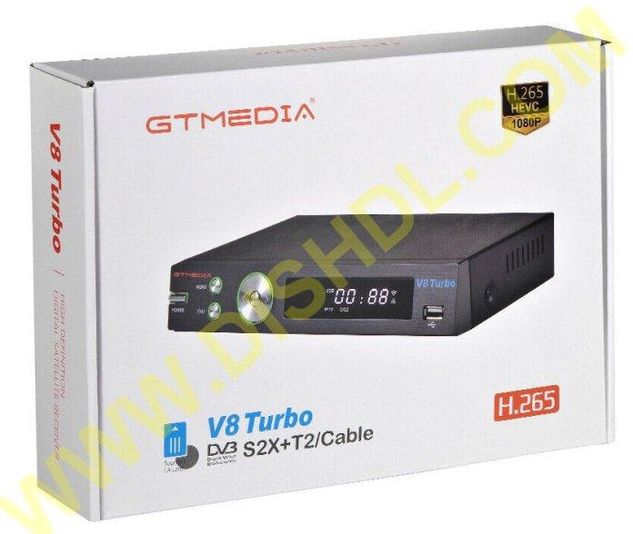 GTMEDIA V8 TURBO NEW SOFTWARE UPDATE