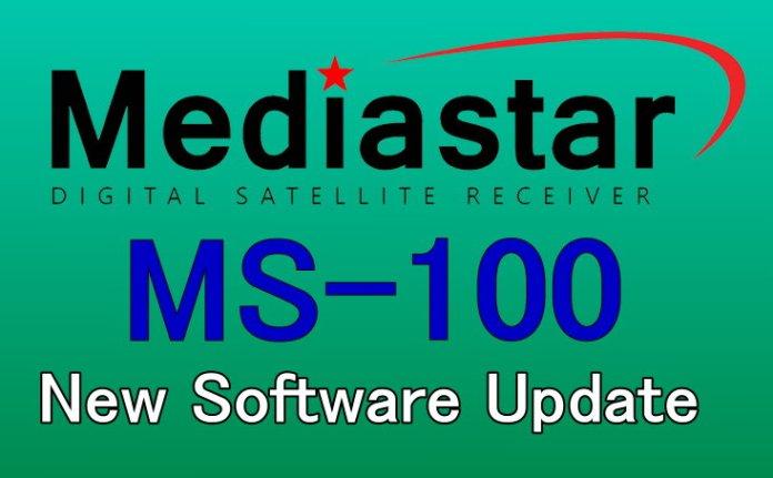 MEDIASTAR MS-100 NEW SOFTWARE UPDATE