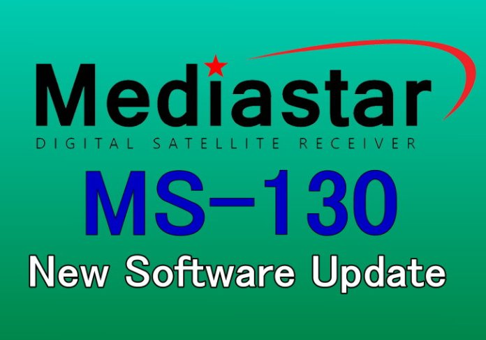 MEDIASTAR MS-130 NEW SOFTWARE UPDATE