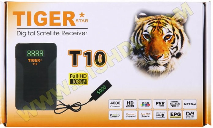 TIGER T10 RECEIVER NEW SOFTWARE UPDATE