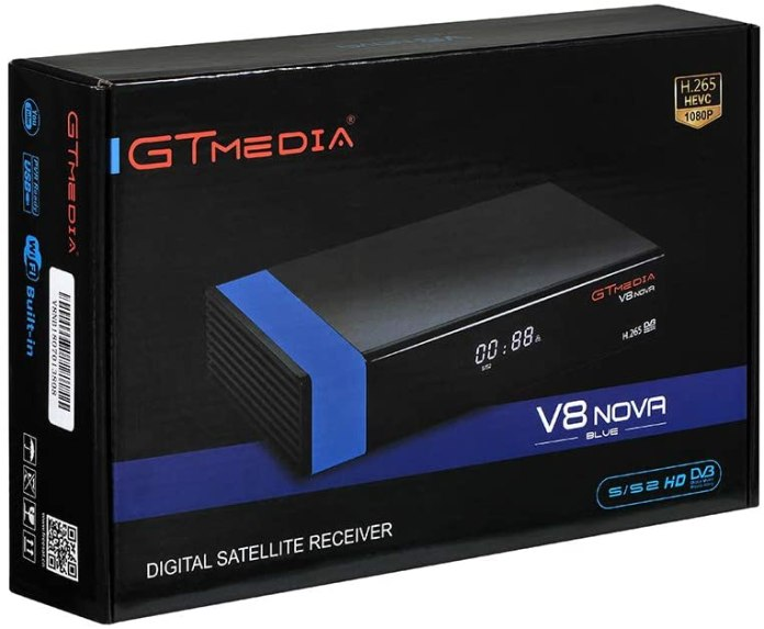 GTMEDIA V8 NOVA BLUE NEW SOFTWARE UPDATE