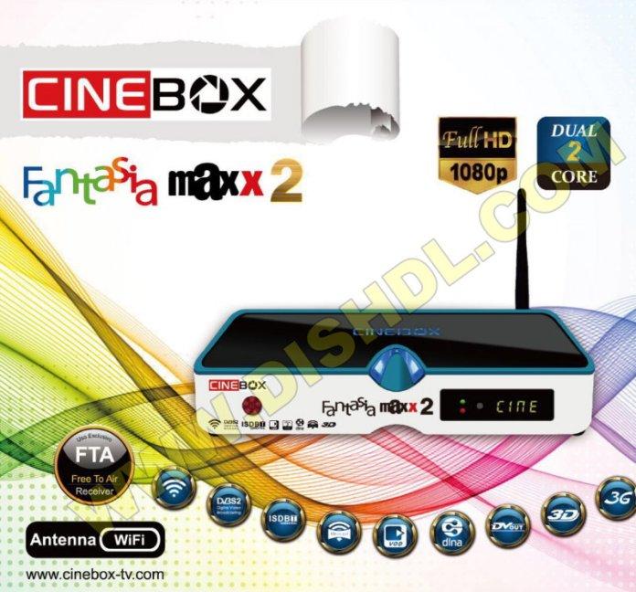 CINEBOX FANTASIA MAXX 2 SOFTWARE UPDATE