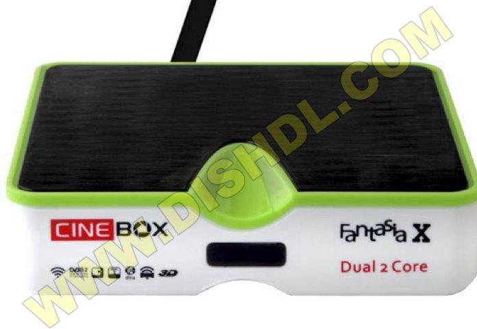 CINEBOX FANTASIA X NEW SOFTWARE UPDATE