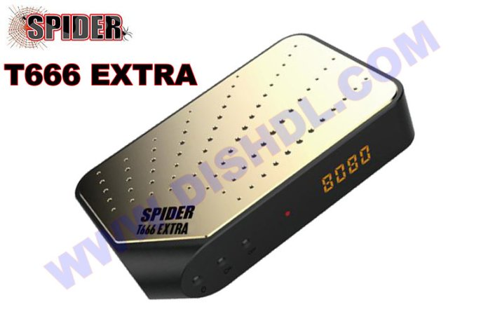 SPIDER T666 EXTRA NEW SOFTWARE UPDATE