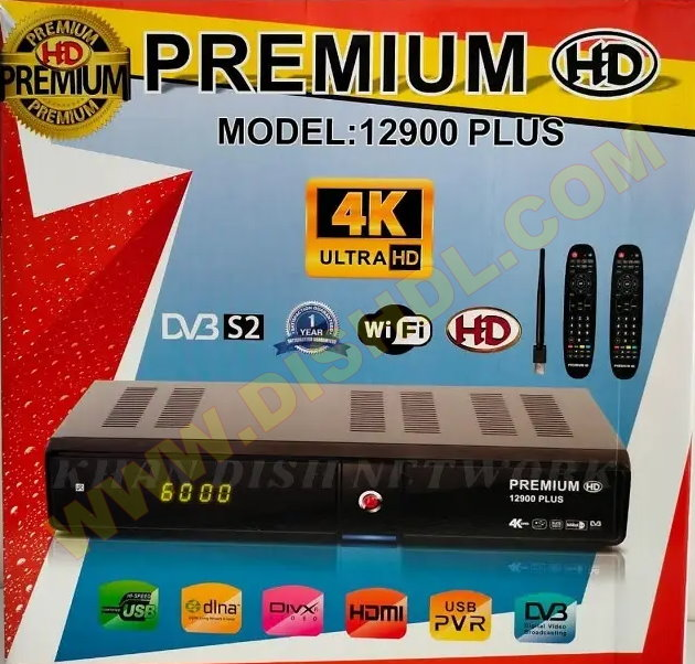 PREMIUM HD 12900 PLUS RECEIVER SOFTWARE